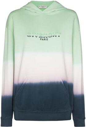 Givenchy Tie-Dye Logo Hoodie