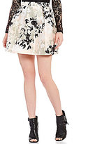 I.N. San Francisco Floral Print Full Skirt