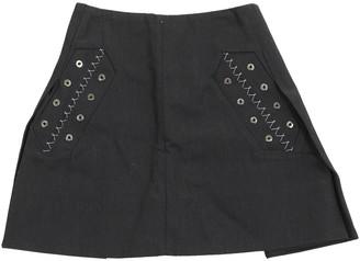 Ellery Black Cotton Skirt for Women