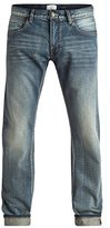 Quiksilver Men's Revolver Vintage Cracked 32 Denim Pant