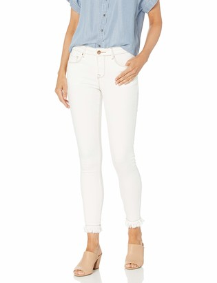 Lola Jeans Women's Plus Size Mid Rise Skinny Ankle