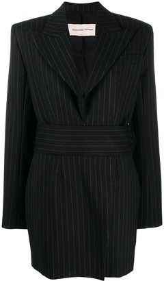 Alexandre Vauthier Pinstripe Suit Dress