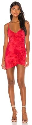 superdown Dahlia Wrap Mini Dress