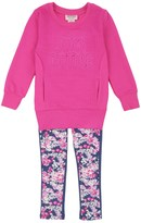 Juicy Couture Girls 2pc Tunic & Legging Set
