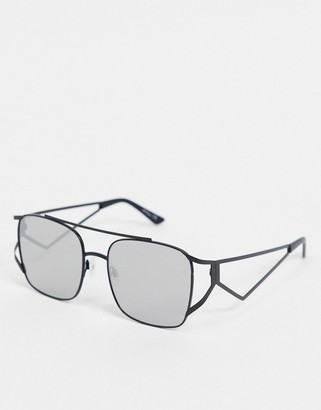 Jeepers Peepers black frame sunglasses