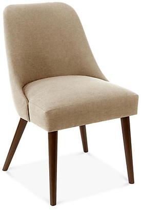 One Kings Lane Barron Side Chair - Sand Linen