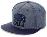 American Needle Indigo Go Cali Snap Back Hat