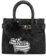 CMK Trendy Kids Cute Handbags Kids Purse Crossbody Bag for Little Girls Little Rhinestone Sheep