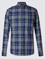 Pure Cotton Long Sleeve Gingham Shirt
