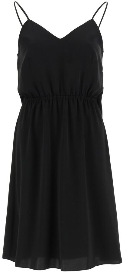 Thumbnail for your product : MM6 MAISON MARGIELA DRESS WITH ADJUSTABLE SHOULDER STRAPS 40 Black