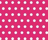 SheetWorld Crib Sheet Set - Polka Dots Hot - Made In USA