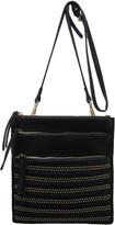 Sondra Roberts Studded Messenger Bag
