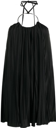 Balmain Pleated Short Dress