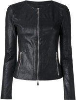 Drome zipped jacket - women - Leather - S