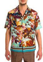 Valentino Tropical Button-Down Shirt