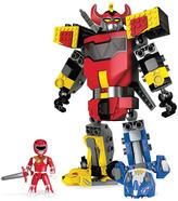 Mega Bloks Mega Construx Power Rangers Mighty Morphin MegaZord