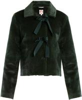 SHRIMPS Oliver faux-fur jacket