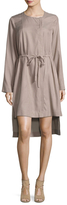 BCBGMAXAZRIA Jourdyn High-Low Dress