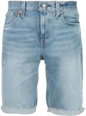 Levi's 511 cut-off denim shorts