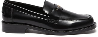 Pedder Red 'Bay' patent leather loafers
