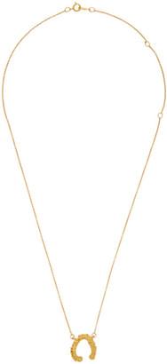 Alighieri Gold The Night Cap Necklace