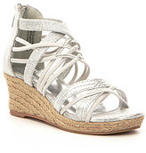 Kenneth Cole Reaction Girls' Reed Stretch Wedge Sandal