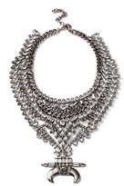 DYLANLEX Bowie Crystal Statement Necklace