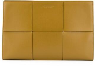Bottega Veneta Woven Leather Document Holder