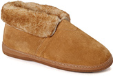 Lamo Chestnut Fold-Top Suede Shoe