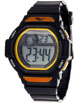 Everlast Black and Yellow Digital Strap Watch