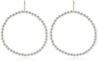Saskia Diez Liquid Hoop Earrings