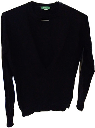 Hoss Intropia Black Wool Knitwear