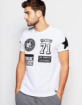 True Religion Badge Print T-shirt