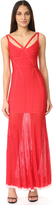 Herve Leger Zhenya Long Dress