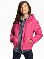 Old Navy Frost Free Hooded Jacket for Girls