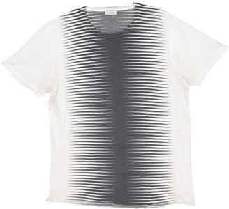 Balenciaga Ecru Cotton T-shirts