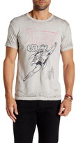 Kinetix Superman Stay Fly Premium Burnout Crew Neck Tee