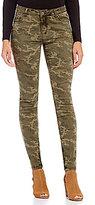 Tru Luxe Jeans Camo Skinny Leg Jeans