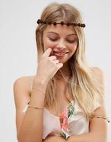 Asos Western Festival Pom Headband