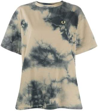 Fred Perry tie-dye T-shirt