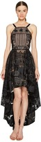Marchesa High-Low Tulle Gown Women's Dress