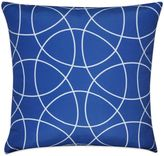 Loom & Mill Circles Square Throw Pillow in Blue