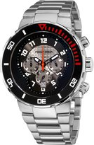 Philip Stein Teslar Men's 33-XBOGR-SS Active Stainless Steel Bracelet Watch