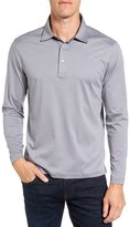Bugatchi Men's Classic Fit Solid Polo