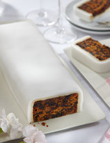 Marks and Spencer Wedding Cutting Bar Cake - Fruit with White Icing (Gluten Free)