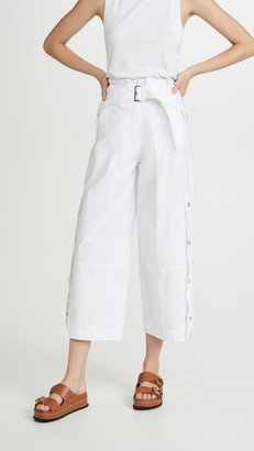 3.1 Phillip Lim Utility Belted Side Snap Pants