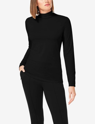 Tommy John Women's Go Anywhere Quick-Dry Long Sleeve Mockneck Tee