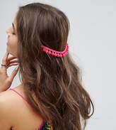 Asos Pack Of 2 Pom Pom Back Hair Grips
