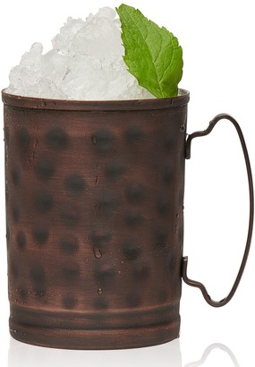 Libbey Set of 4 Moscow Mule Hammered Copper Mugs
