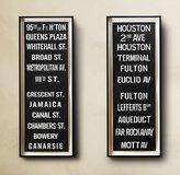Subway Sign Art 95th